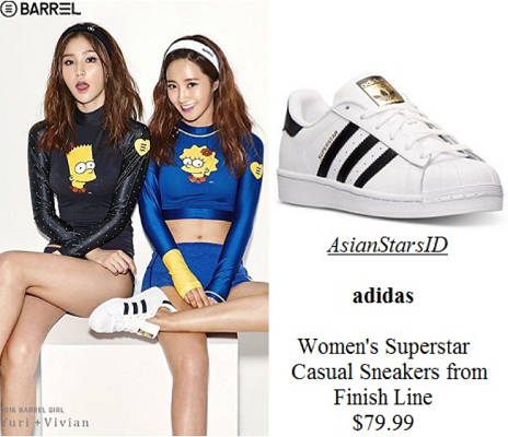 7815850a5 Barrel Photo Shoot - Yuri (SNSD)  adidas Women s Superstar Casual Sneakers  from Finish