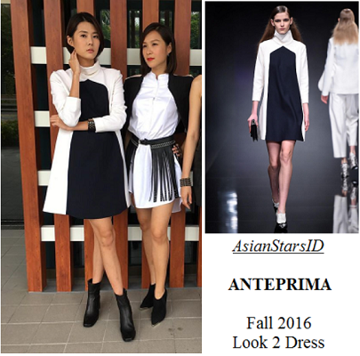 Hero - Carrie Wong: ANTEPRIMA Fall 2016 Look 2 Dress