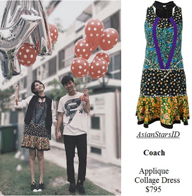 You Can Be An Angel 2 - Carrie Wong: Coach Applique Collage Dress $795